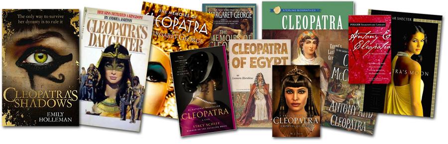Books about Cleopatra. Книги о Клеопатре