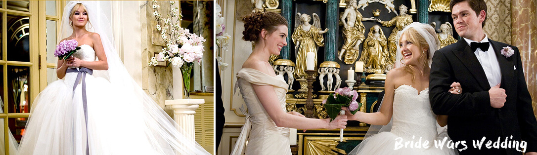 Bride Wars Wedding Dresses. Top 10 film brides and weddings
