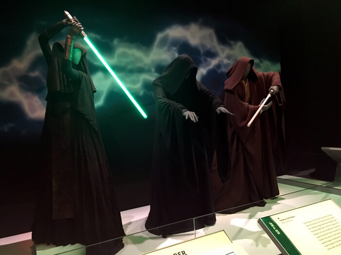 Star Wars. The Power of Costume Exhibition photographs