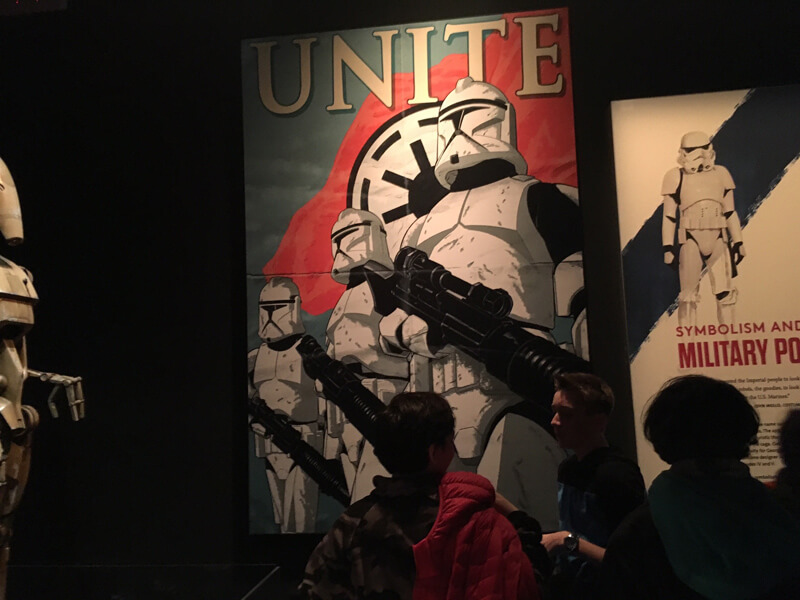 Star Wars The Power of Costume Exhibition exclusives