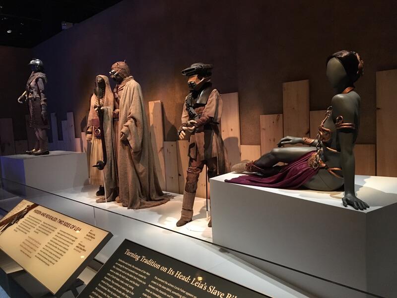 Star Wars costumes. Exclusive peek
