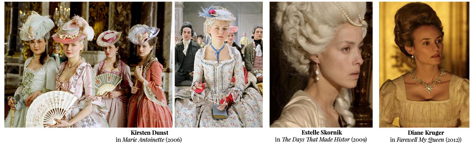 Marie Antoinette actresses