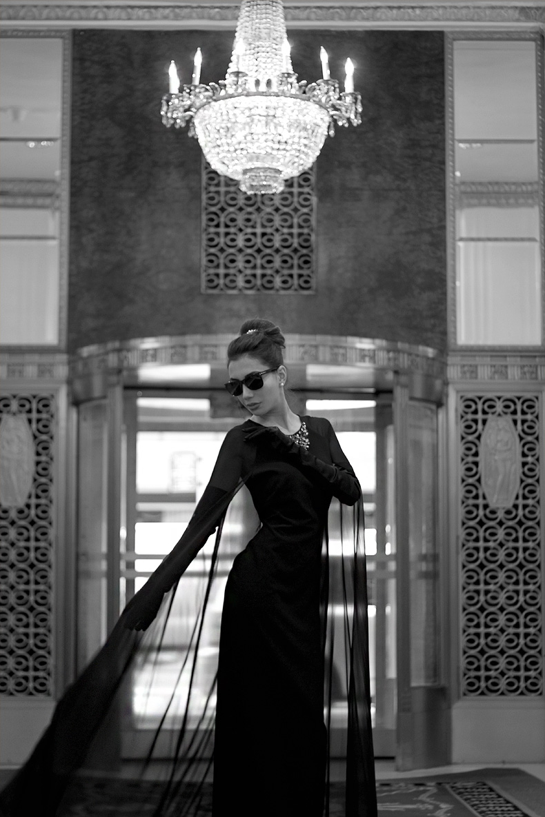 Photoshoot in Waldorf Astoria Hotel