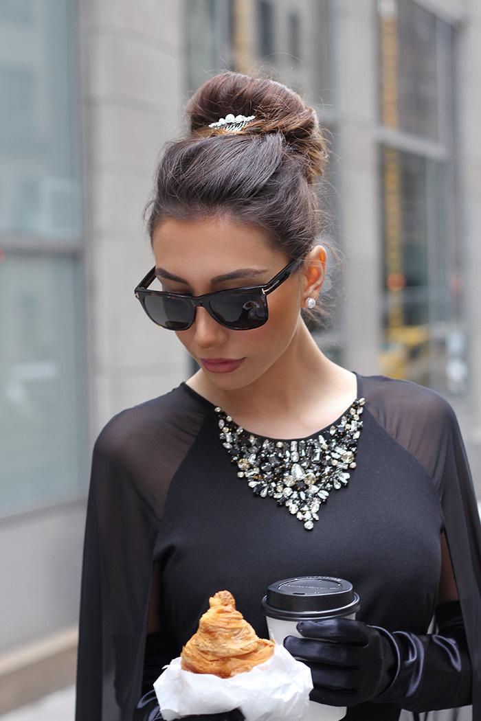 Ulia blogger. Audrey Hepburn hairstyle