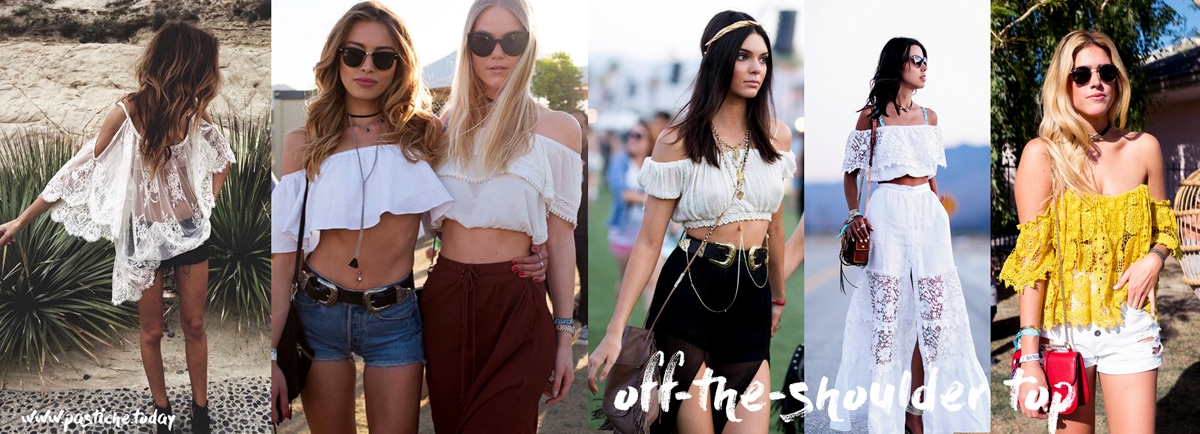 Best trends of 2016, Coachella vibes. Fashion and style of bloggers