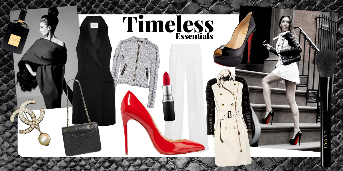 Timeless Essentials. Wardrobe of a modern Lady