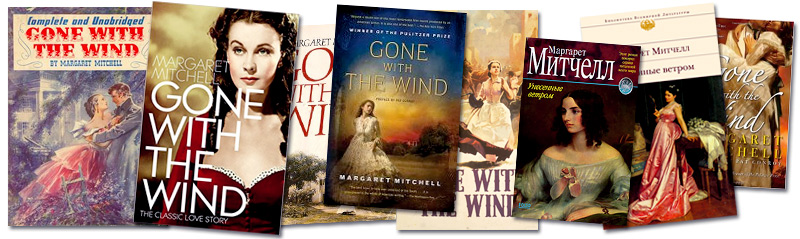 Gone with The Wind Book Covers