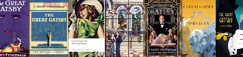 Best The Great Gatsby Book covers.