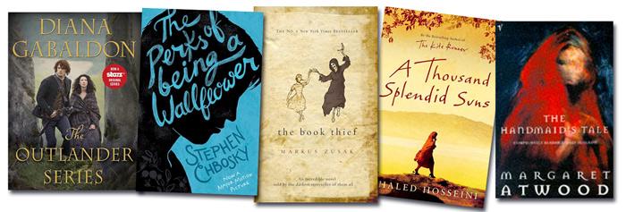 Book covers. Modern classics