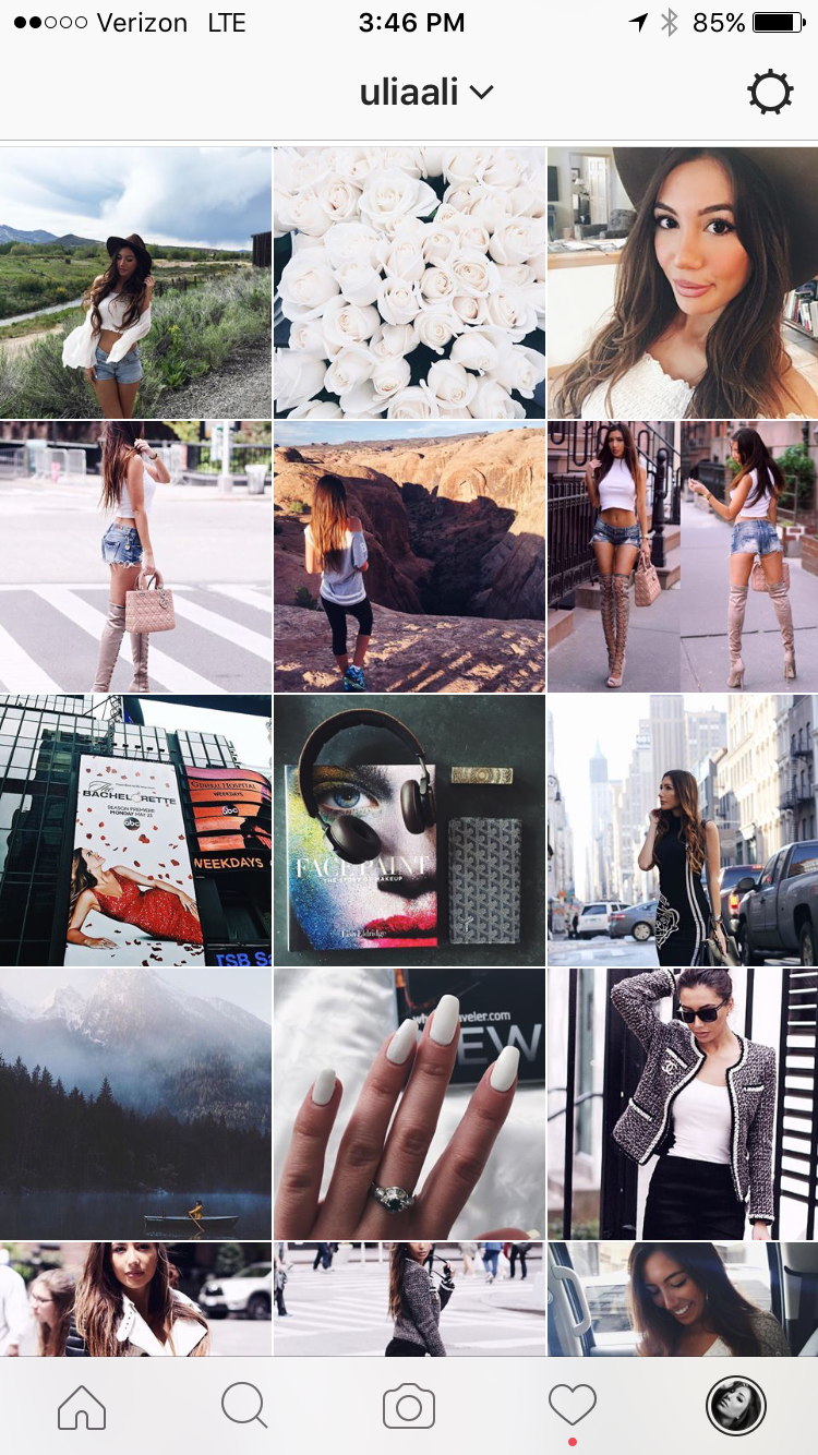 My Instagram Feed now. More sleek and organized.