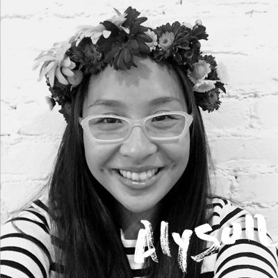 Alyson Chu  - Our fabulous copy editor.    www.alysonchu.com