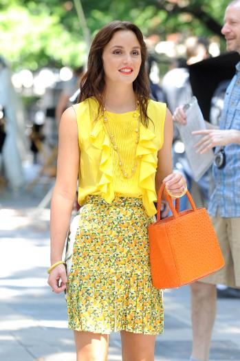 Blair Waldorf look/fashion