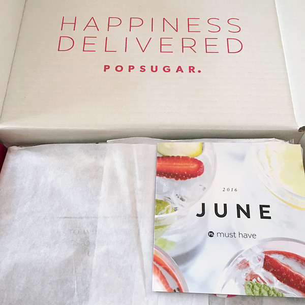 Popsugar subscription Box June