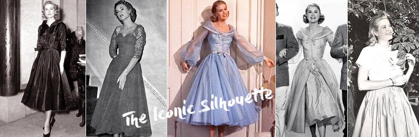 The iconic silhouette. Grace Kelly style