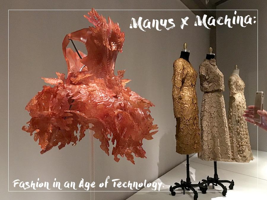 Manus X Machina exhibition at Met 2016