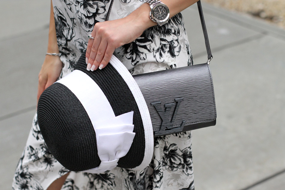 Louis Vuitton grey bag 2016