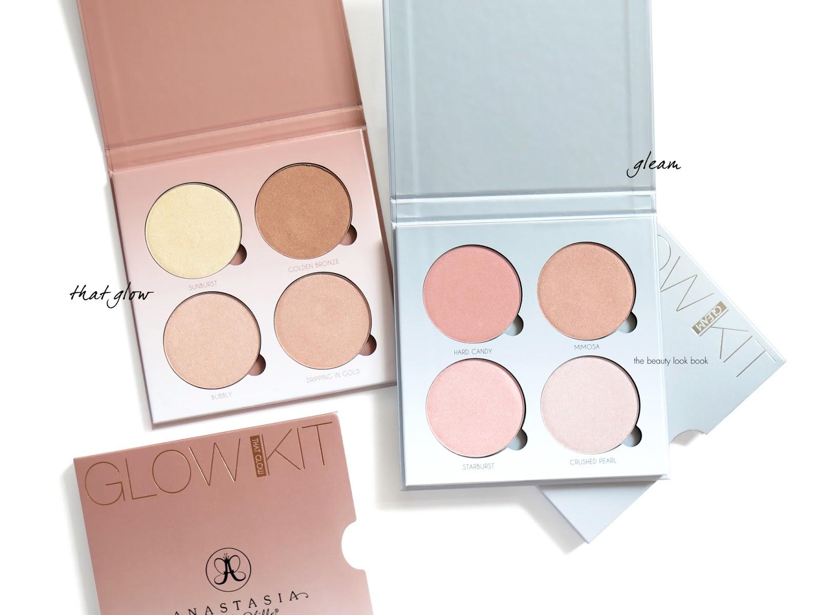 Anastasia Glow Kits in That Glow and Gleam no flash.jpg
