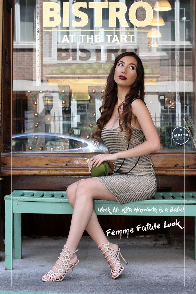 Walter Baker beaded dress. Fashion blogger in New York.