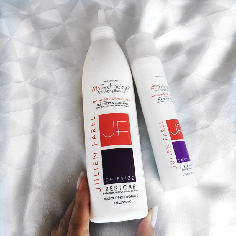 Julien Farel Hair care products review.