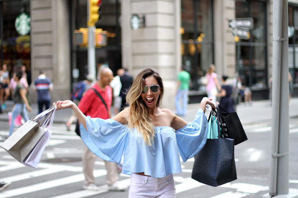 Blogger shopping. Where to shop in New York? Покупки в Нью-Йорке.
