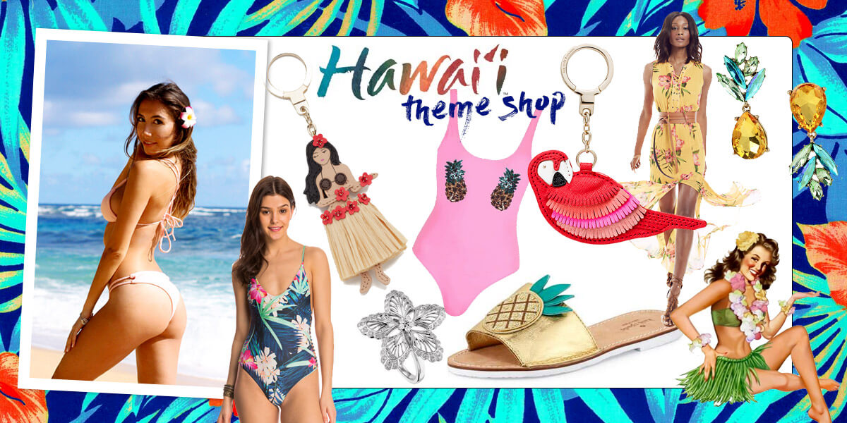Hawaiian Theme shop. Curated selection of items in the themed shop by blogger from Pastiche.today Ulia Ali. Mahalo!