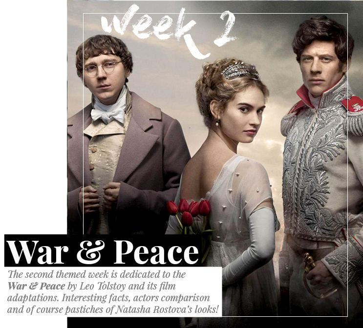 Week 2 - War & Peace  | March 2016