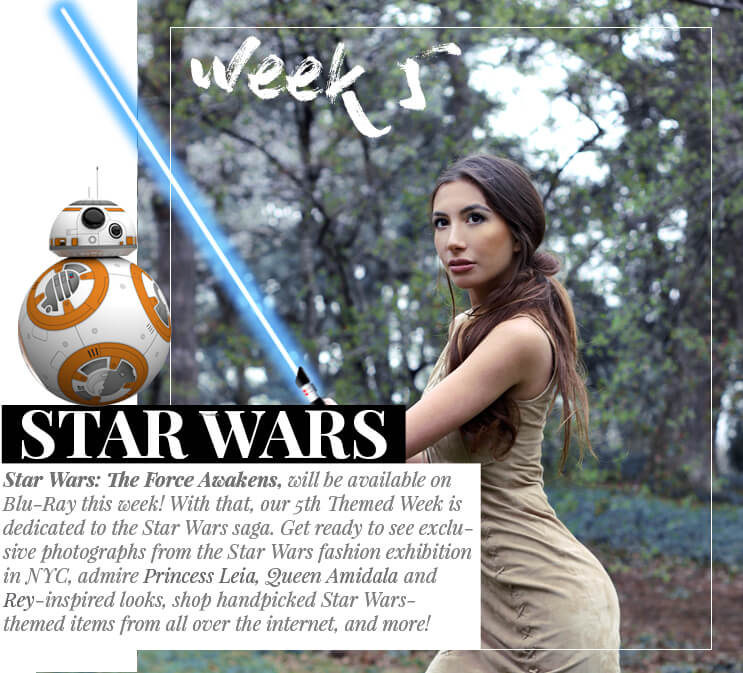 Week 5 - Star Wars  | April 2016