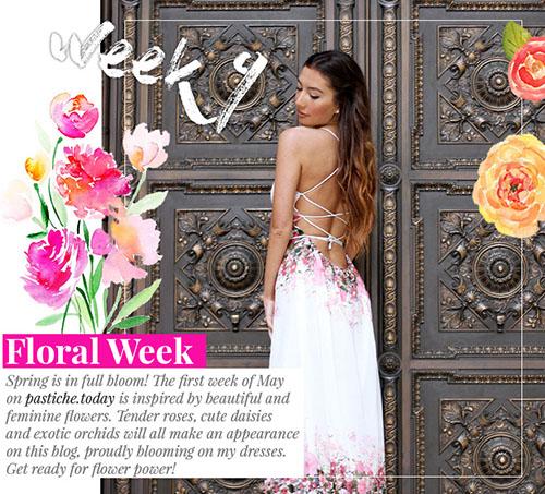 Week 9 - Floral  | May 2016