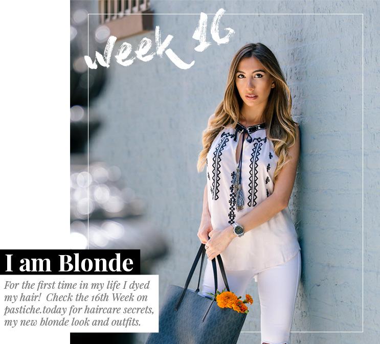 Week 16 - I am Blonde  | August 2016