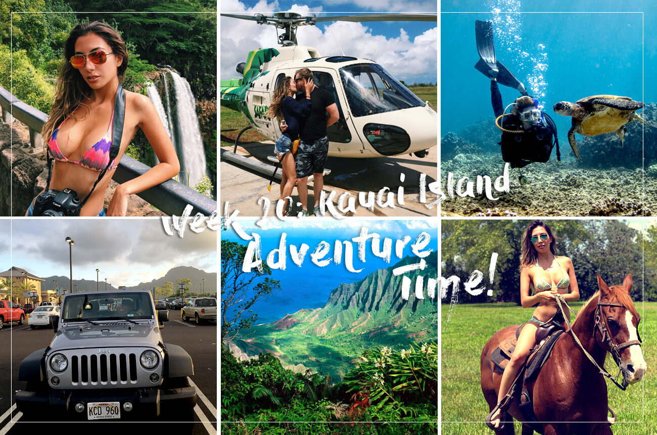 Adventures on Kauai Island. What do in Hawaii?