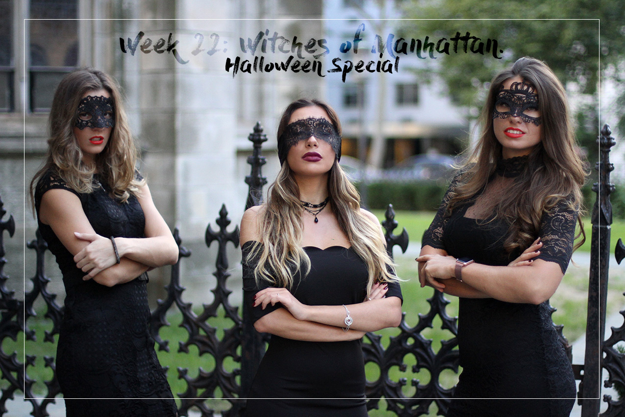 Witches of Manhattan. Halloween special by bloggers Ulia Ali, Natalya and Olia.
