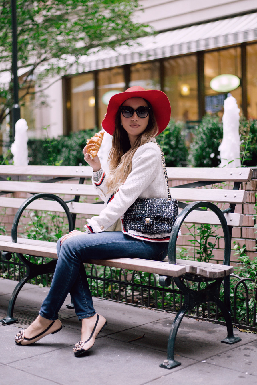 Azeri blogger in NYC. Look of the day