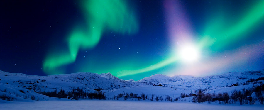 Breathtaking Northern Lights in Swedish Lapland!