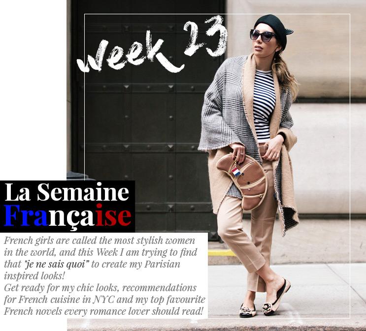 Week 23 -La Semaine Française  | November 2016