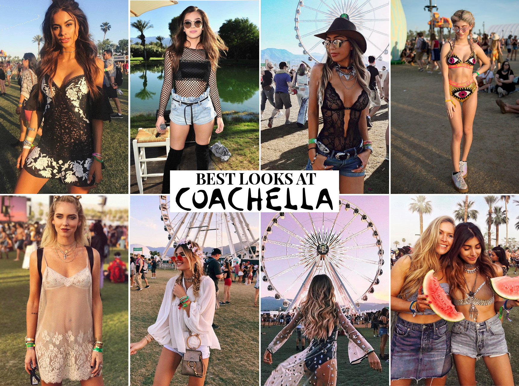 Festival Fashion Goals. Best Coachella outfits 2017.