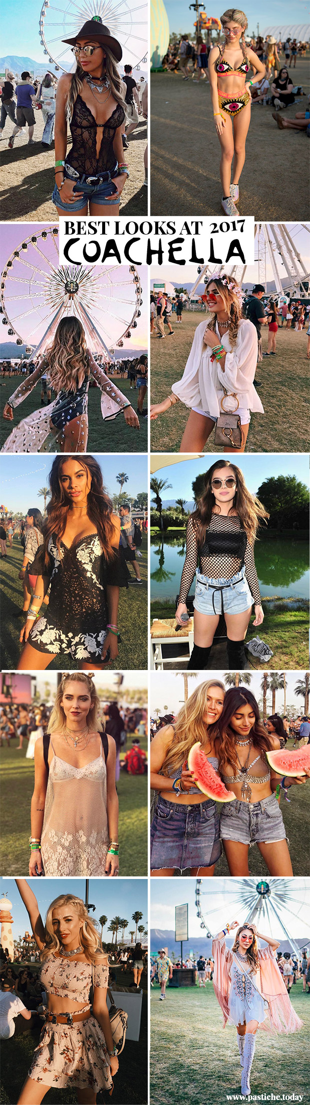 Best Coachella 2017 Outfits. Festival Fashion!