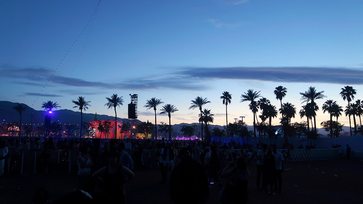 Coachella 2017. Beautiful Sky