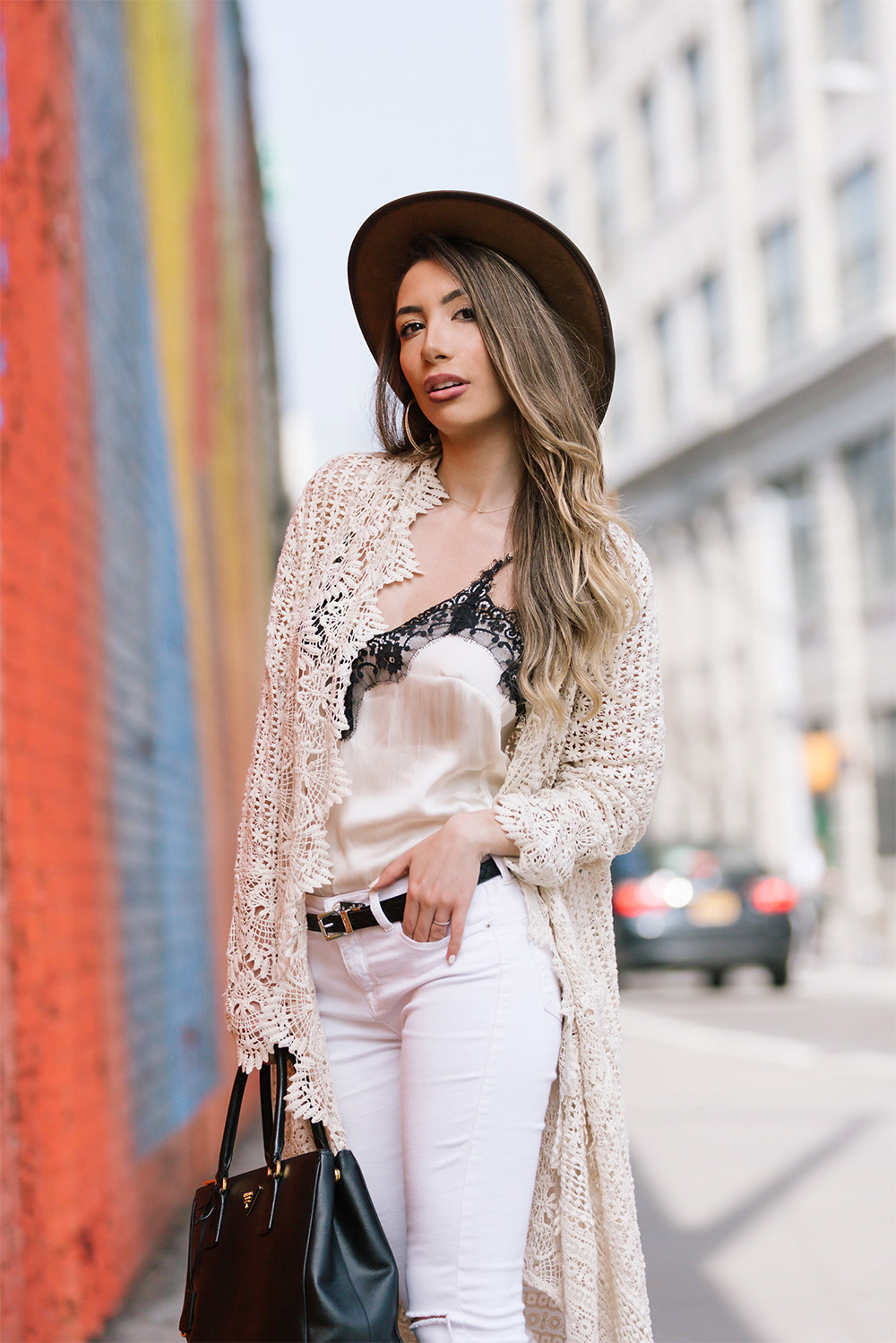 Ulia ali wearing California Moonrise. Blogger collaboration.