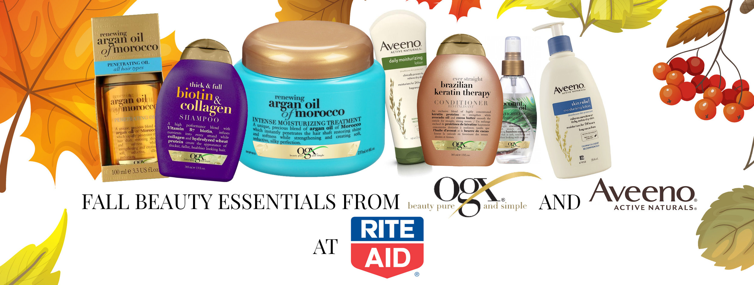 Rite Aid and Shopstyle blogger campaign. Johnson & Johnson.