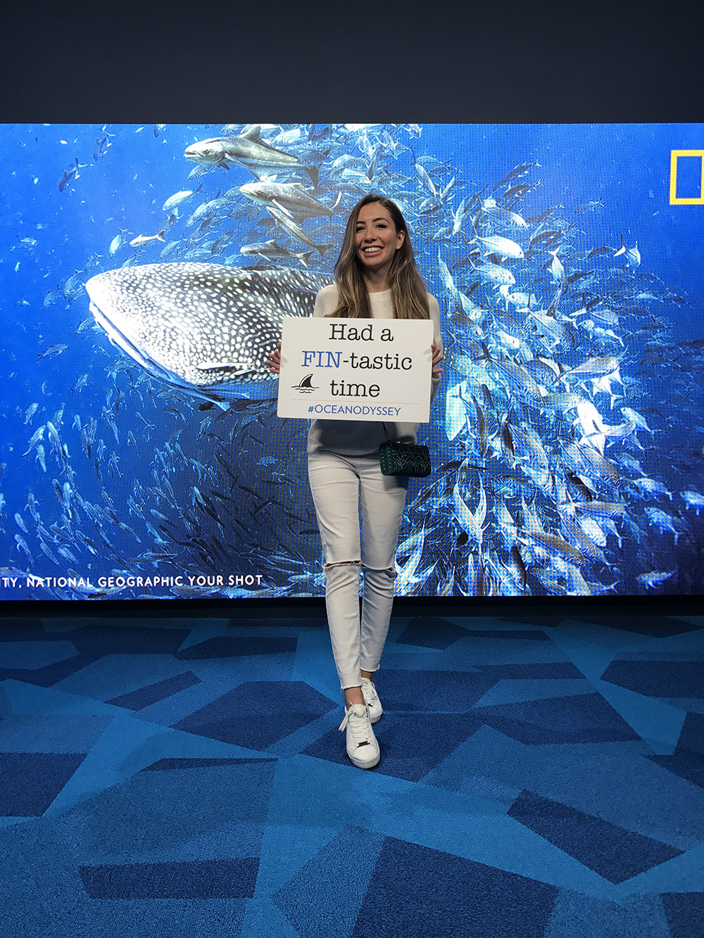 Had a fin-tastic time at NatGeo!