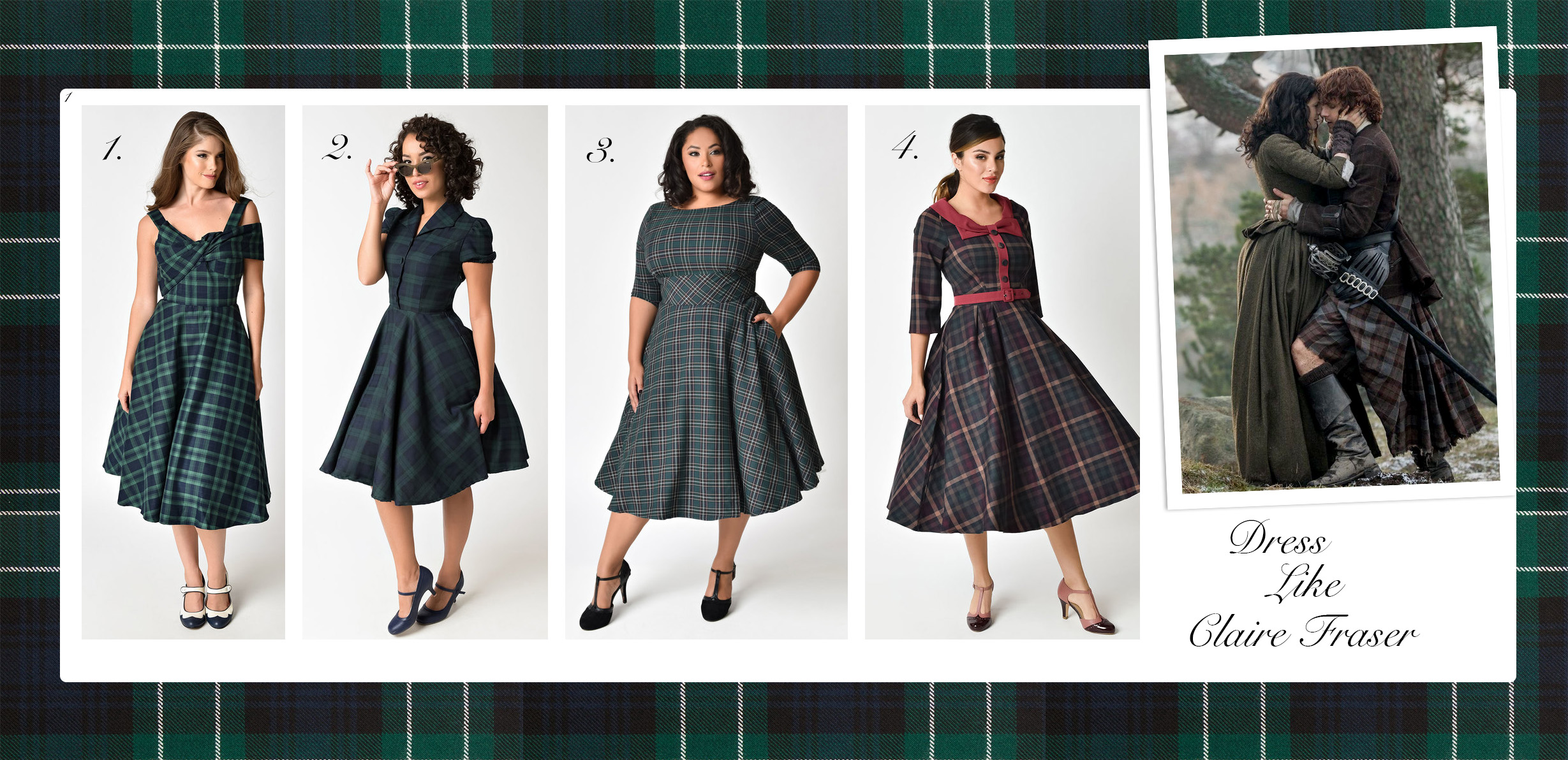 Dress Like Claire Fraser from Outlander.