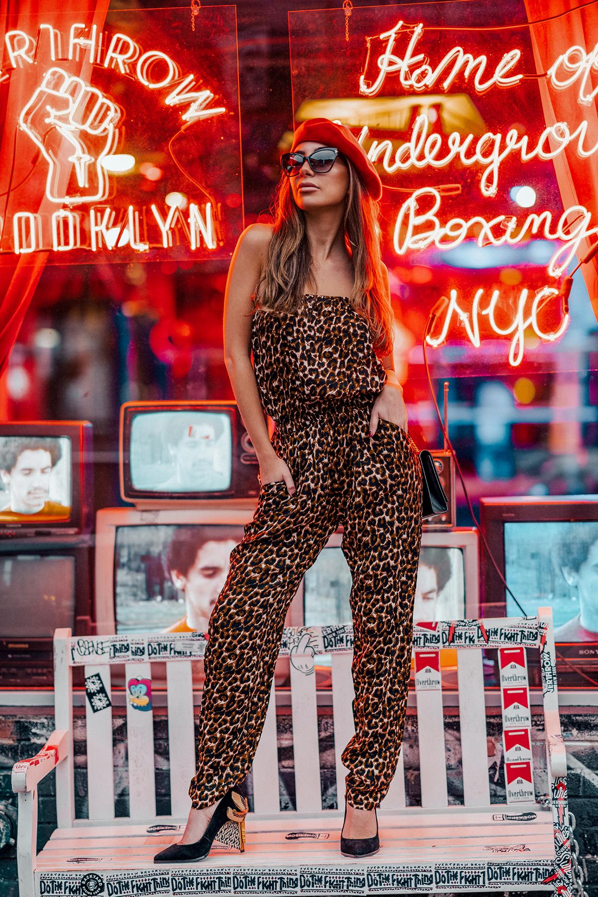 Ulia Ali NYC blogger wearing Femmes Sans Peur.