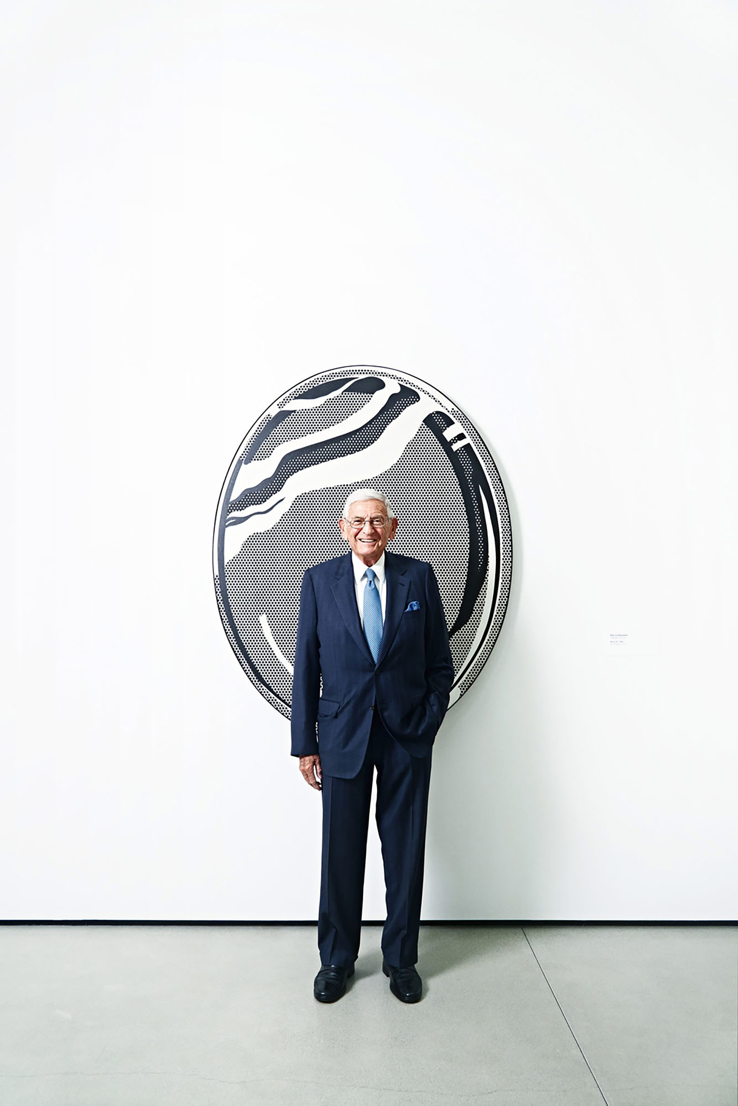 Eli Broad, Entrepreneur & Philanthropist, Los Angeles, California, 2015