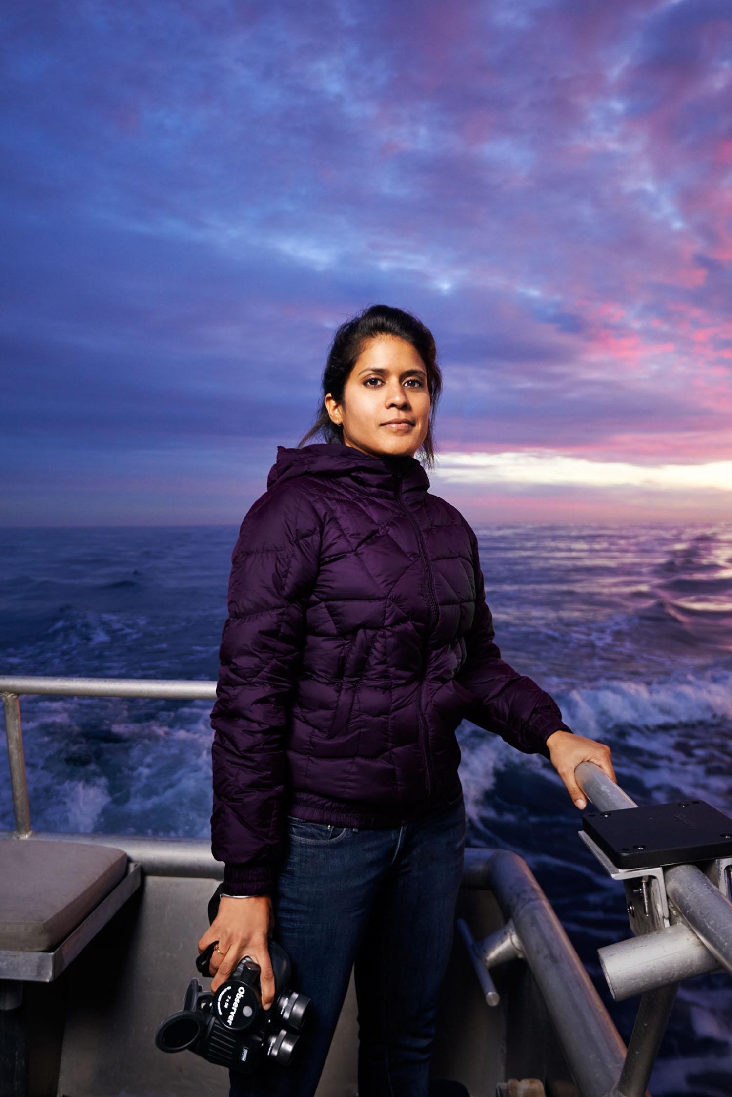 Asha De Vos, Marine Biologist, Santa Cruz, California, 2014