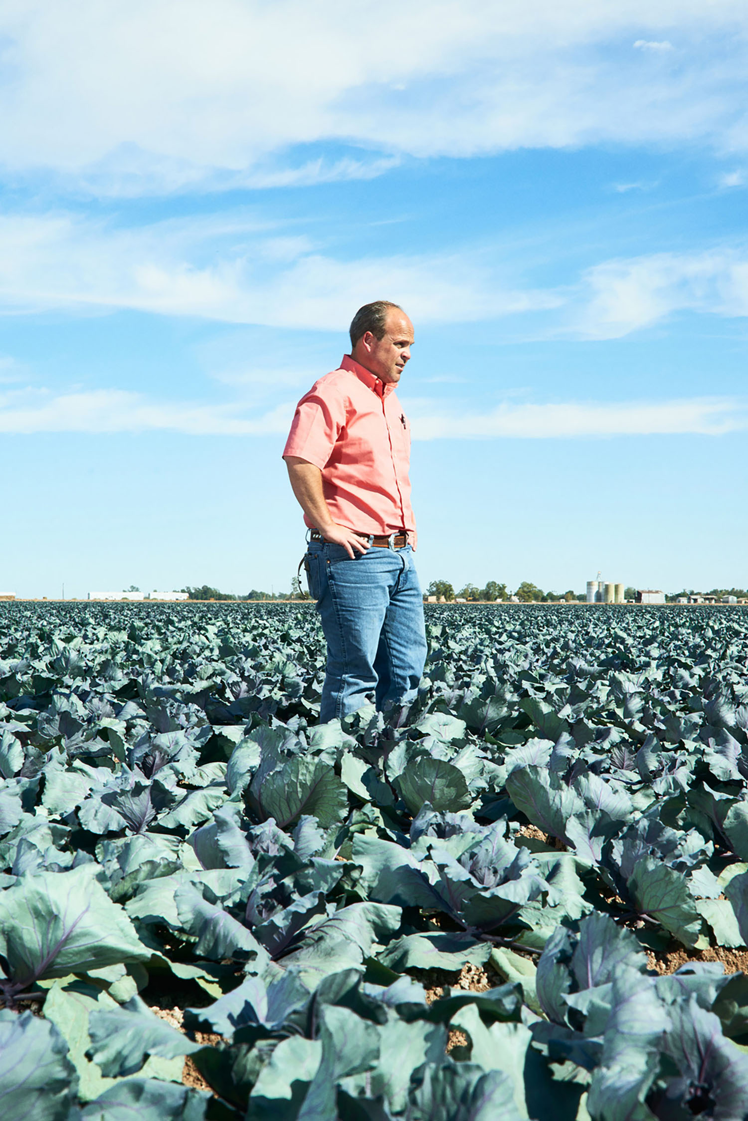 Jack Vessey, Farmer, Imperial Valley, California, 2015