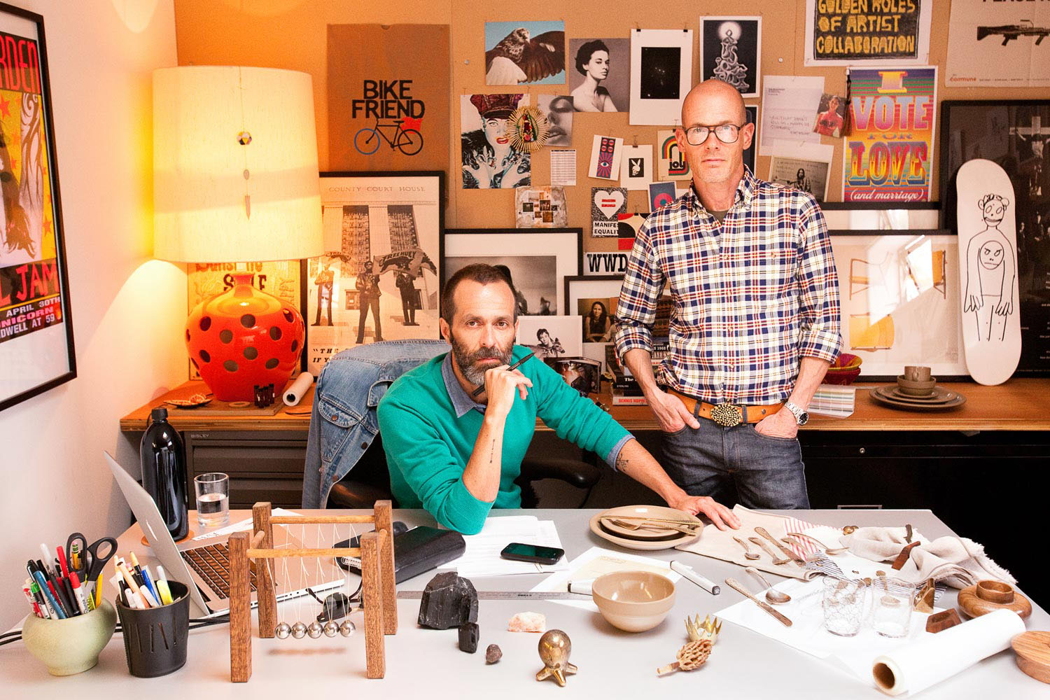 Roman Alonso & Steven Johanknecht, Founders of Commune Design, Los Angeles, California, 2011