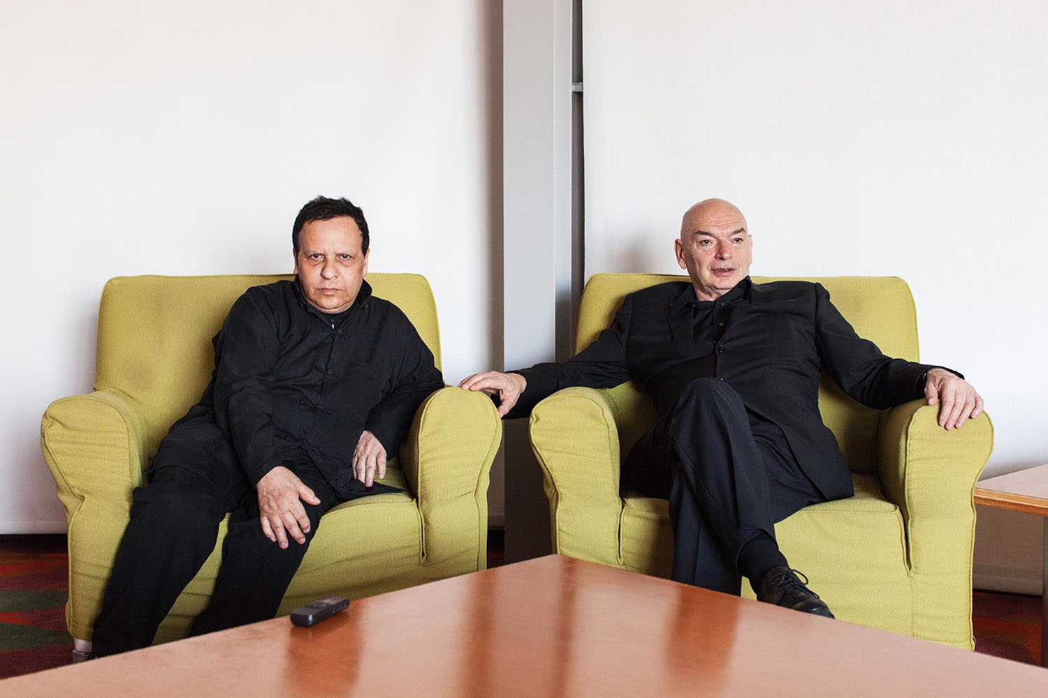 Azzedine Alaia, Designer & Jean Nouvel, Architect, Los Angeles, California, 2013