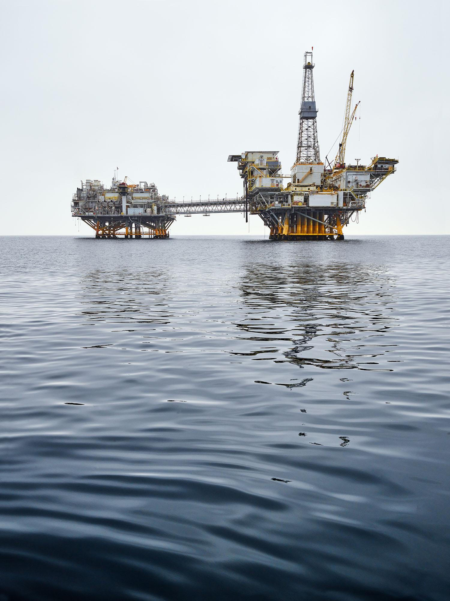 Offshore Oil Rig, Long Beach, California, 2016