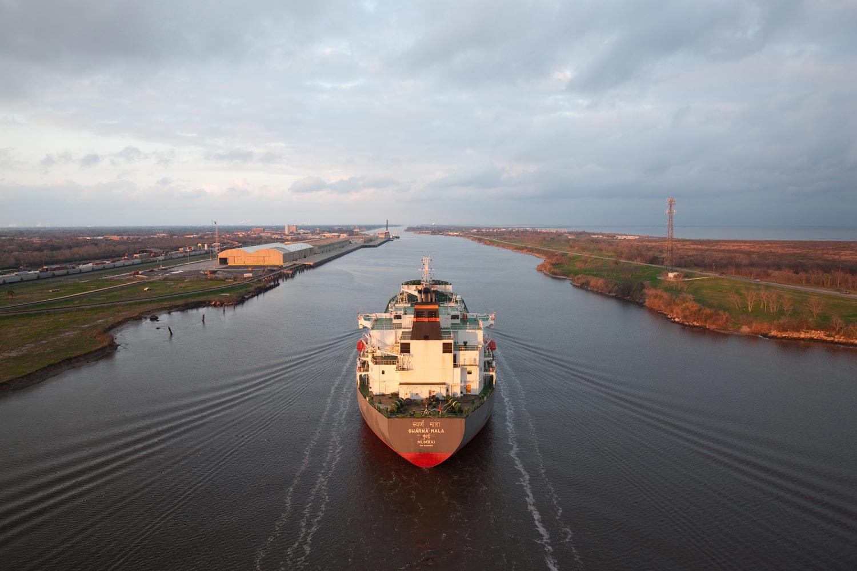 The Swarna Mala Oil Tanker, Port Arthur, Texas, 2012