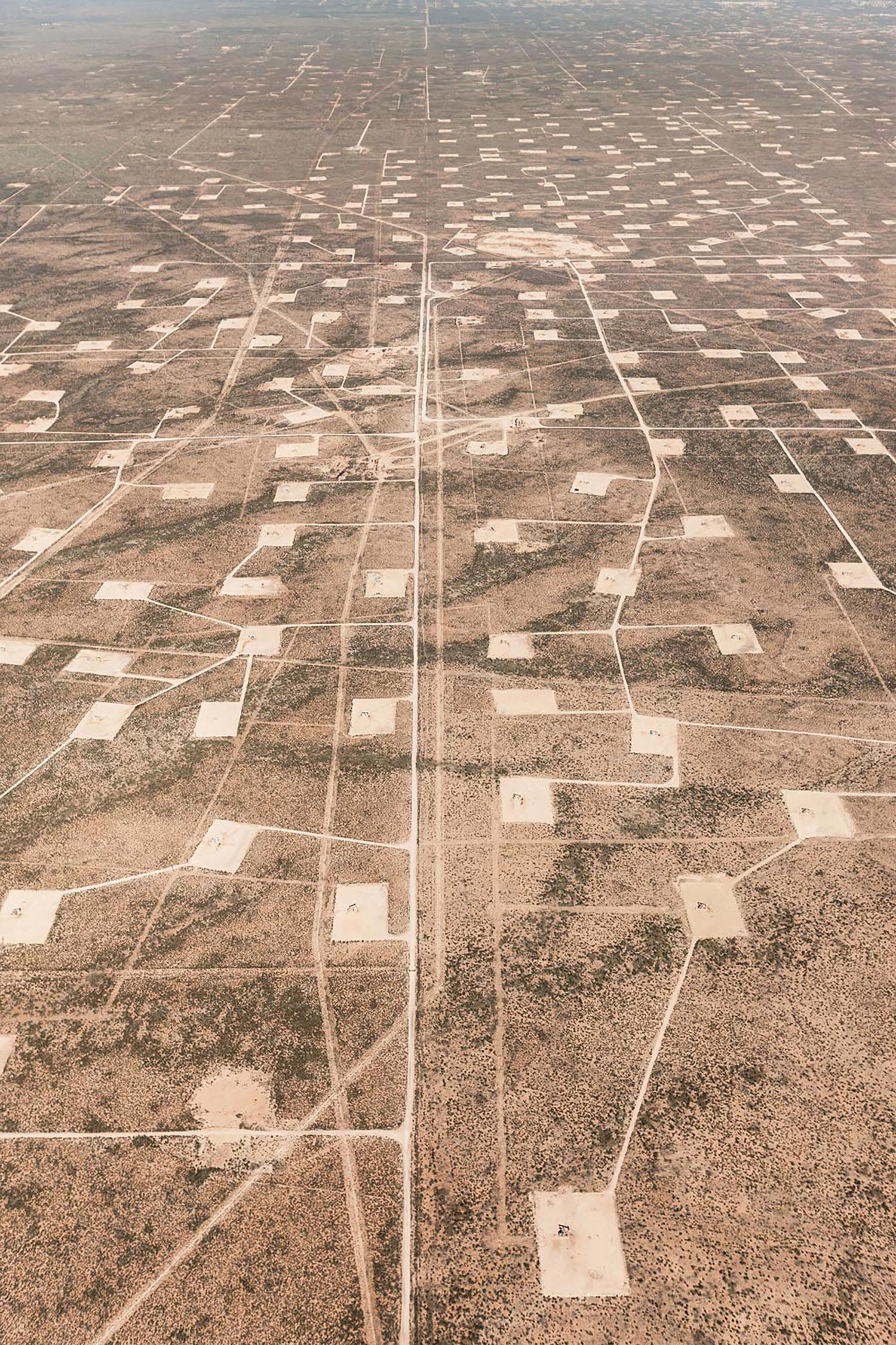 Oil Pads, Midland, Texas, 2013